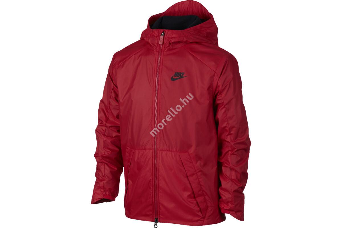 Nike fiú B NSW JKT FLEECE LINED kabát, dzseki