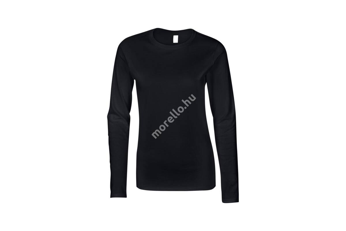GILDAN SOFTSTYLE LADIES LONG SLEEVE T-SHIRT - GIL64400-utt - T-SHIRT ... 89ab765743