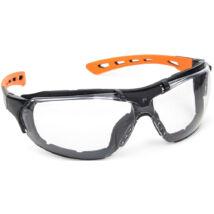 Spiderlux – 2/1 Víztiszta Védőszemüveg + Szivacsbetét