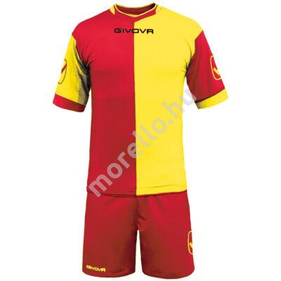 Combo Mez+Nadrág, piros-sárga