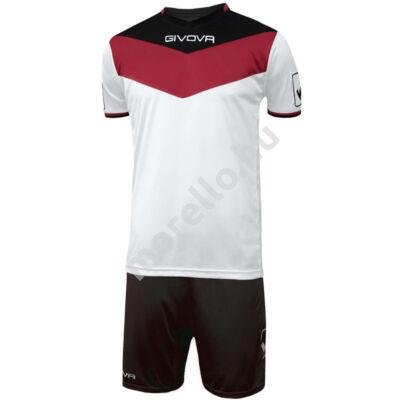 Givova Campo Mez+Nadrág, piros-fekete