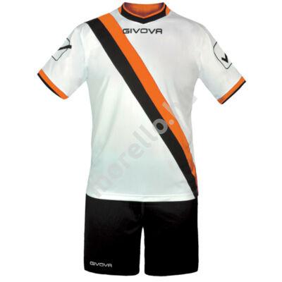 Trasversal Mez+Nadrág, fehér-narancssárga-sötétkék