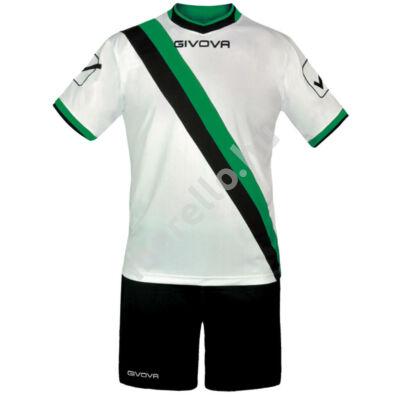 Trasversal Mez+Nadrág, fehér-fekete-zöld