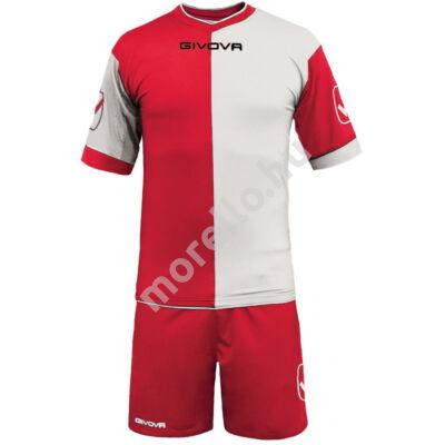 Combo Mez+Nadrág, piros-fehér