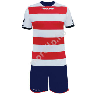 Rugby Mez+Nadrág, fehér-piros