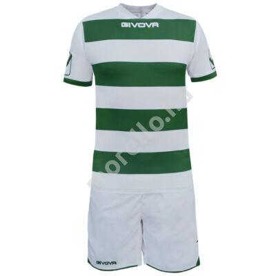 Rugby Mez+Nadrág, fehér-zöld