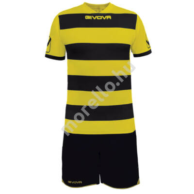 Rugby Mez+Nadrág, fekete-sárga