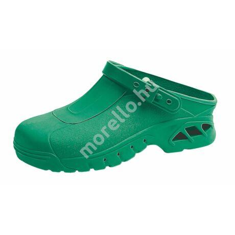 Clog green munkavédelmi papucs, klumpa 35-46