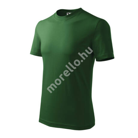 Heavy pólók unisex üvegzöld 3XL
