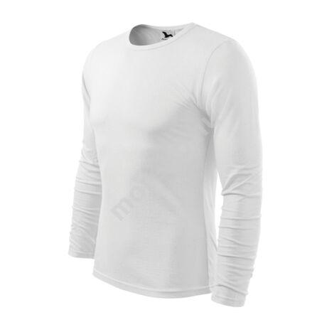 Fit-T Long Sleeve pólók férfi fehér 3XL