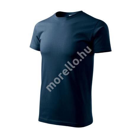 Basic pólók férfi tengerészkék S