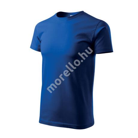 Basic pólók férfi királykék M