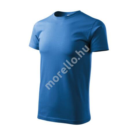 Basic pólók férfi azúrkék 4XL