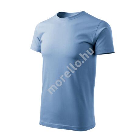 Basic pólók férfi égszínkék 4XL