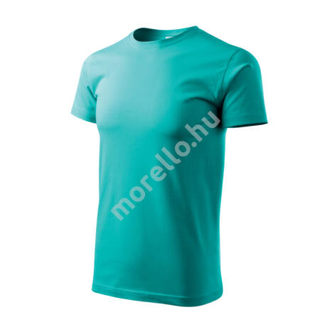 Basic pólók férfi smaragdzöld 4XL