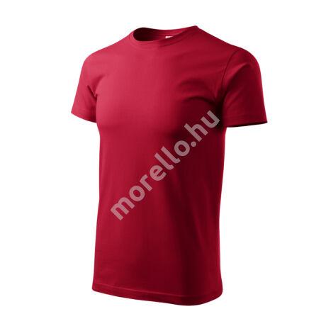 Basic pólók férfi marlboro piros 4XL