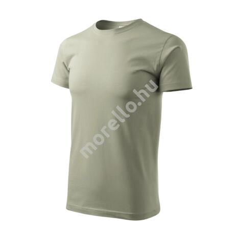 Basic pólók férfi világos khaki M