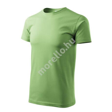 Basic pólók férfi borsózöld 4XL