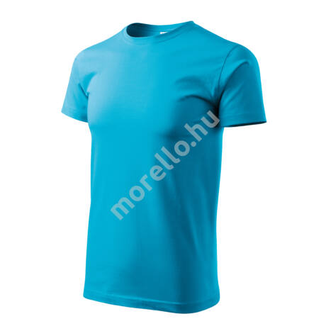 Basic pólók férfi türkiz 4XL