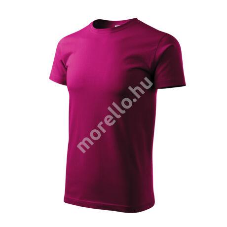 Basic pólók férfi fukszia 4XL