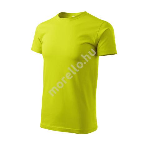 Basic pólók férfi lime 4XL