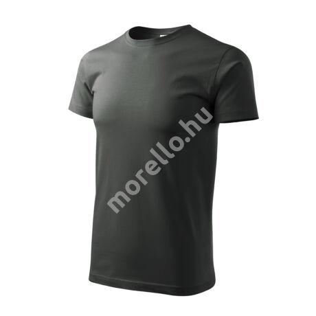 Basic pólók férfi sötét palakő 4XL