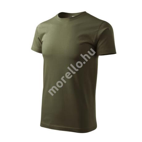 Basic pólók férfi military S