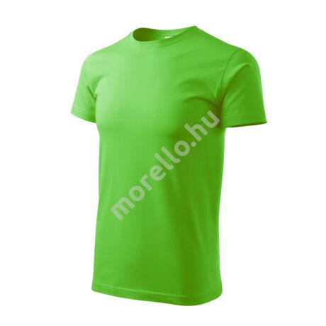 Basic pólók férfi almazöld 2XL