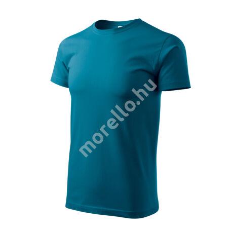 Basic pólók férfi petrol kék XL