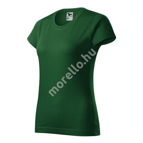 Basic pólók női üvegzöld XS