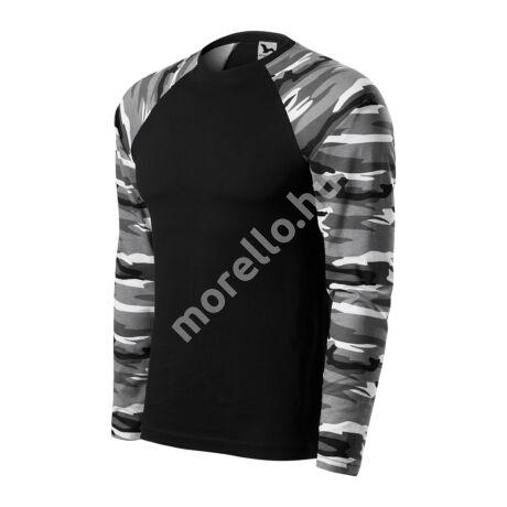Camouflage LS pólók unisex