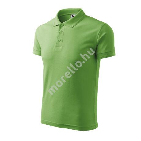 Pique Polo galléros póló férfi borsózöld 3XL