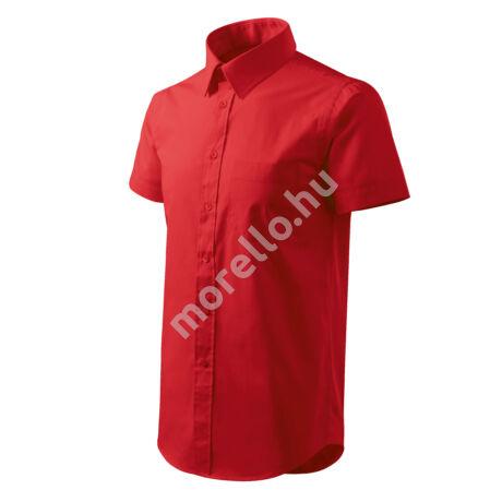 Chic ing férfi piros 3XL