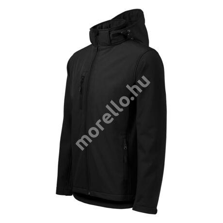 Performance softshell kabát férfi fekete S