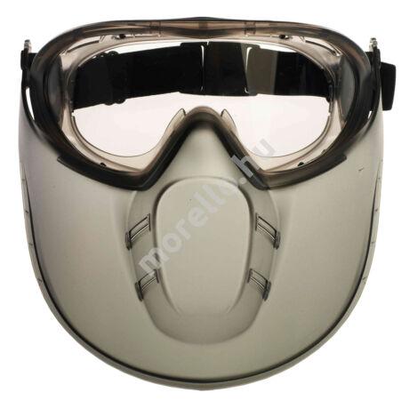 Stormlux - Gumipántos Acetát Szemüveg + Arcvédő (St)