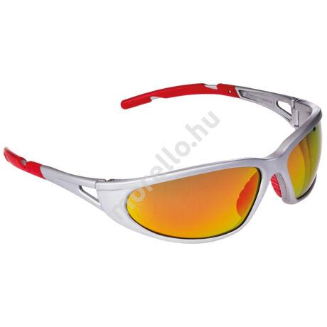 Freelux - Ezüst Keret/Piros Tükrös Szemüveg
