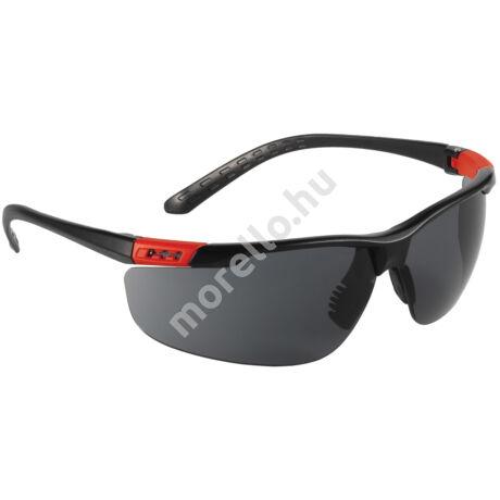 62580 THUNDERLUX Munkavédelmi Szemüveg - Fekete szár és színezett lencsével