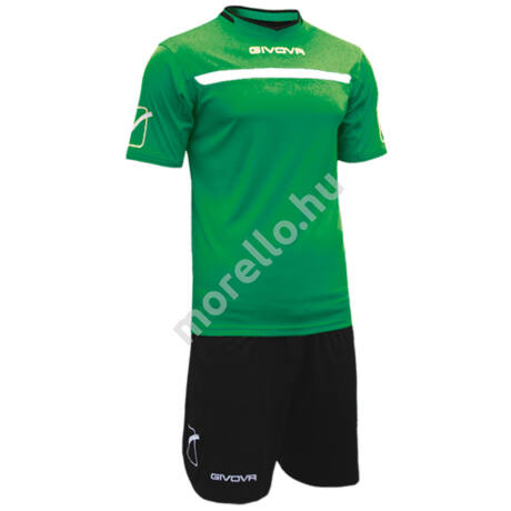 Givova One Mez+Nadrág, Zöld-Fekete