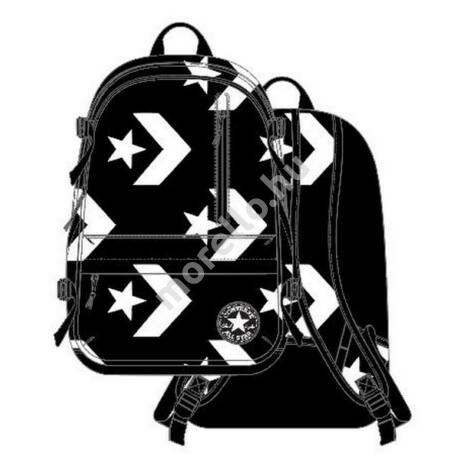 Straight Edge Backpack Black/White