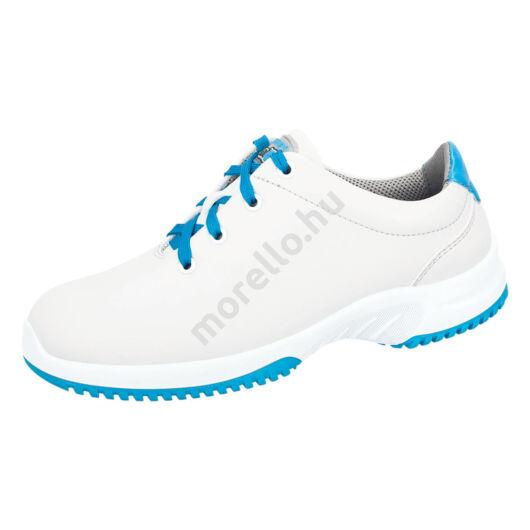 1786 ABEBA-UNI6 S2, Src fűzős fehér-kék Munkavédelmi Cipő 35-48