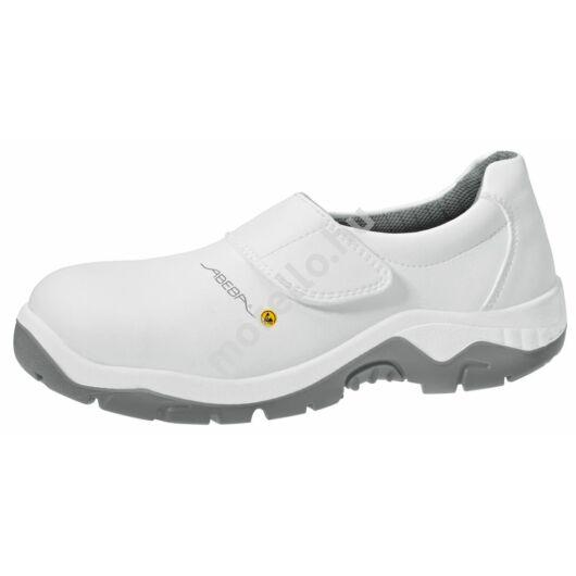 32130 ABEBA-ANATOM  S2, Src Esd fehér tépőzáras Munkavédelmi Cipő extra méretben is 36-52