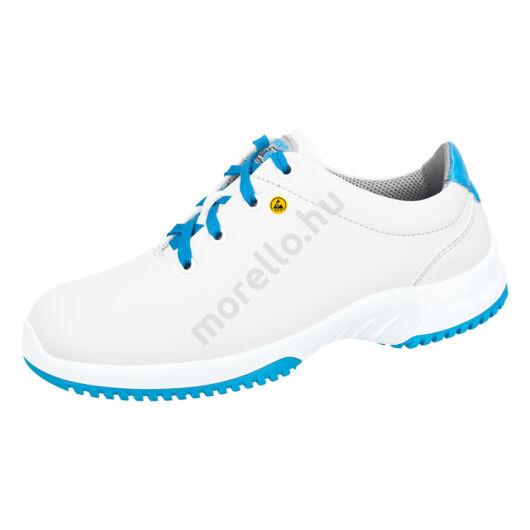 36786 ABEBA-UNI6 O2 Src ESD fehér-kék fűzős Munkavédelmi Cipő 35-48