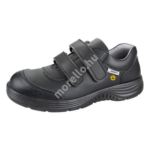 7131046 ABEBA-X-LIGHT Alacsony szárú fekete ESD munkavédelmi cipő 35-48