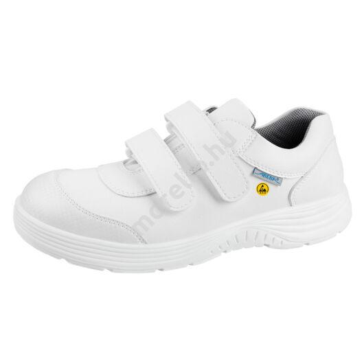 7131047 Alacsony szárú fehér ESD munkavédelmi cipő 35-48