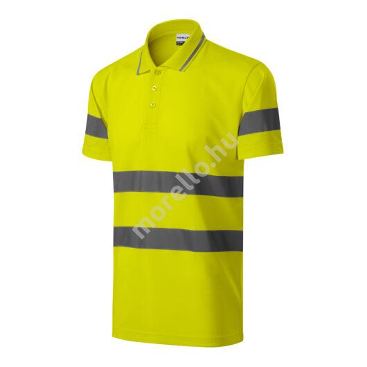 HV Runway galléros póló unisex fényvisszaverő