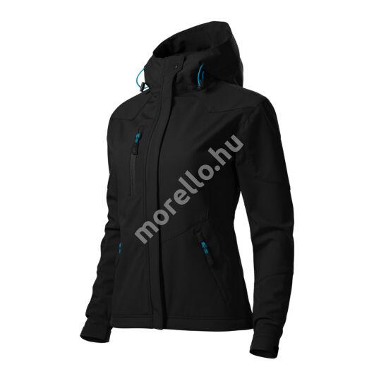 Nano softshell kabát női fekete XS