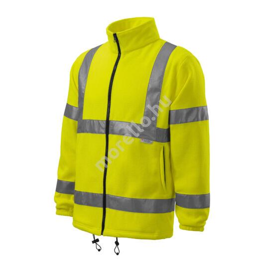 HV Fleece Jacket polár unisex fényvisszaverő