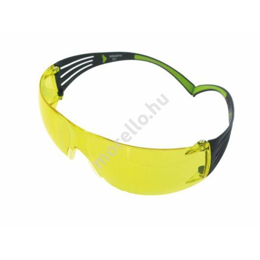 3M SecureFit SF403AF-EU szemüveg sárga