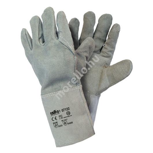 Marhahasítékbőr munkavédelmi kesztyű 15-cm-es mandzsettával