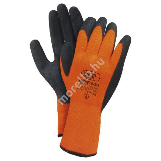 07365 - Warm Catch Téli Latexba mártott munkavédelmi kesztyű